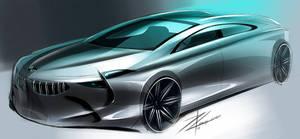 BMW concept sketch by TonyWcK
