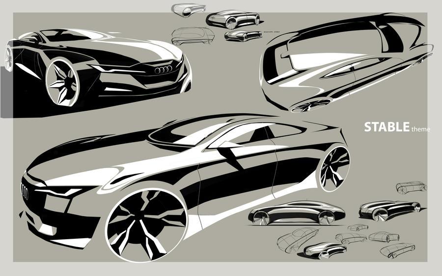 Audi form study pg3 by TonyWcK