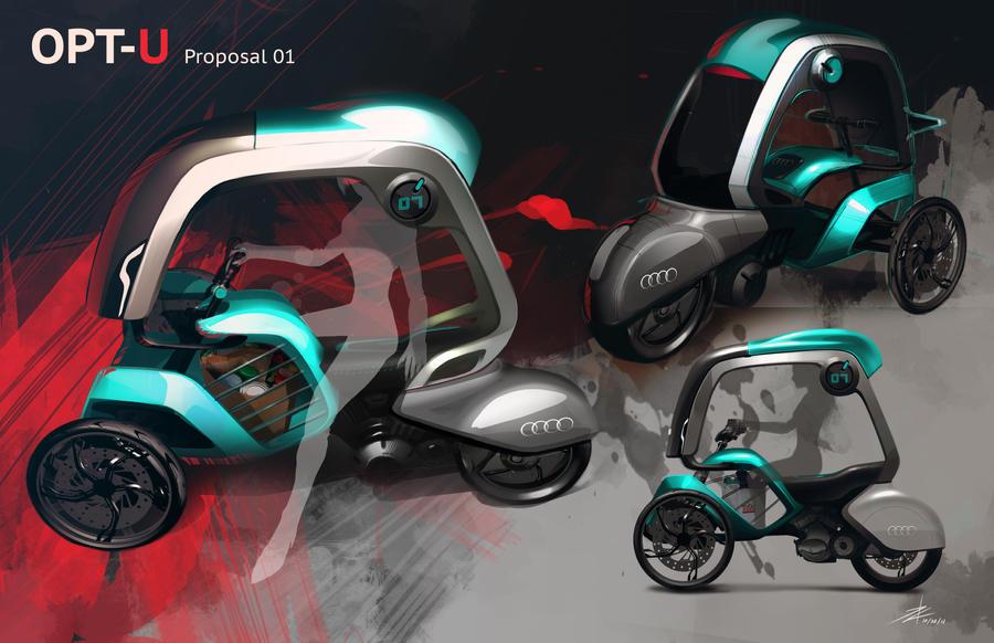 Audi urban mobility by TonyWcK