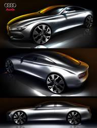 2014 Audi A5 4 door by: Tony Chen by TonyWcK