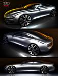 2014 Audi A5 4 door by: Tony Chen