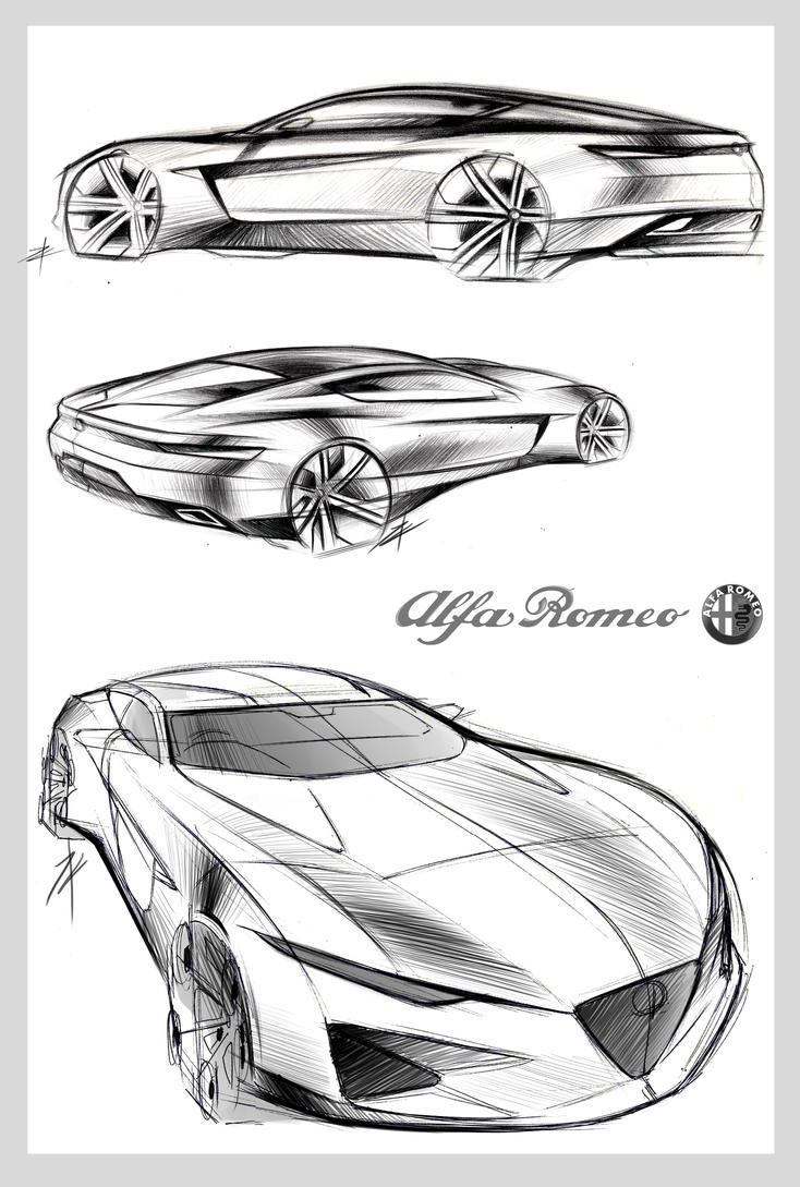 Tony Chen | Graduation | Alfa Romeo Concept by TonyWcK