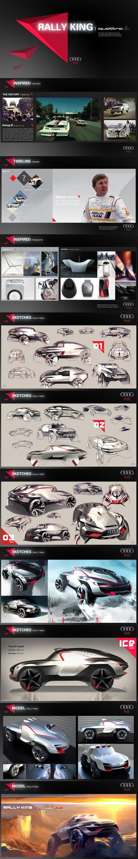 AUDI Quattro | RallyKing | Tony Chen by TonyWcK
