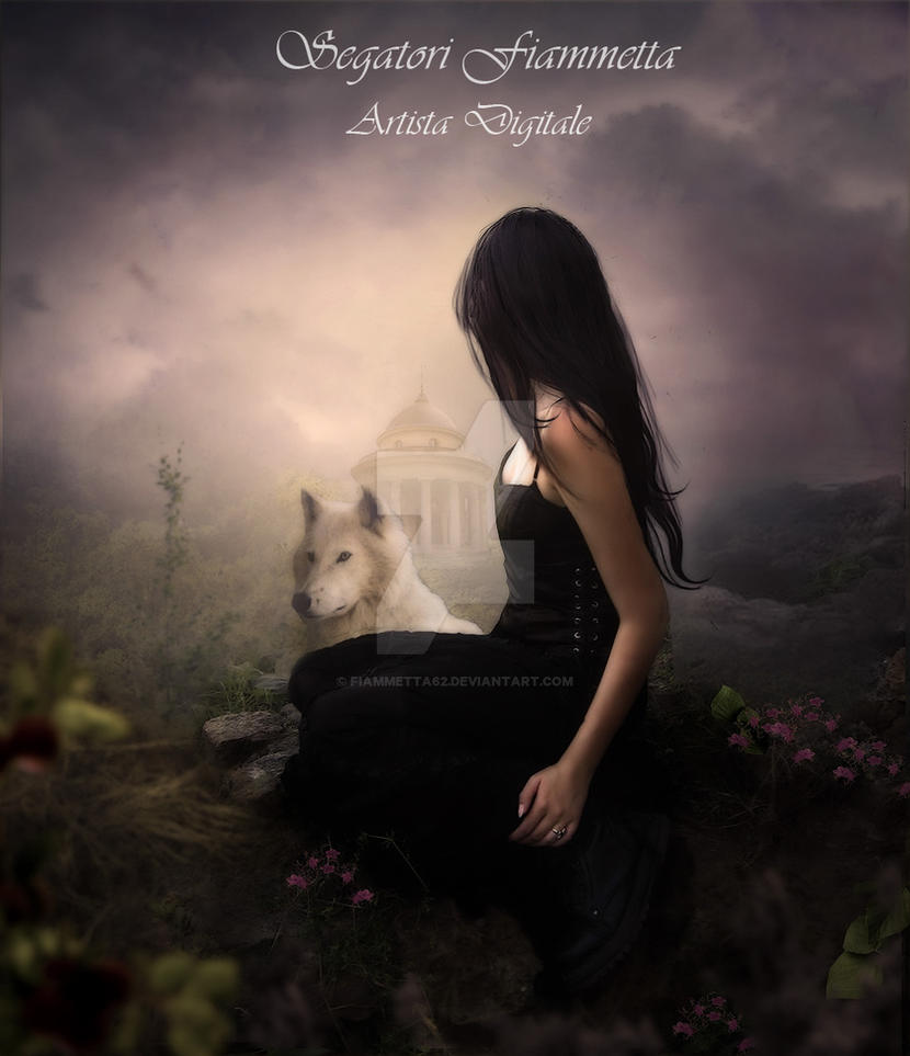 Alone is magic by Fiammetta62