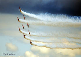 The Red Arrows bank left by Mark-Allison