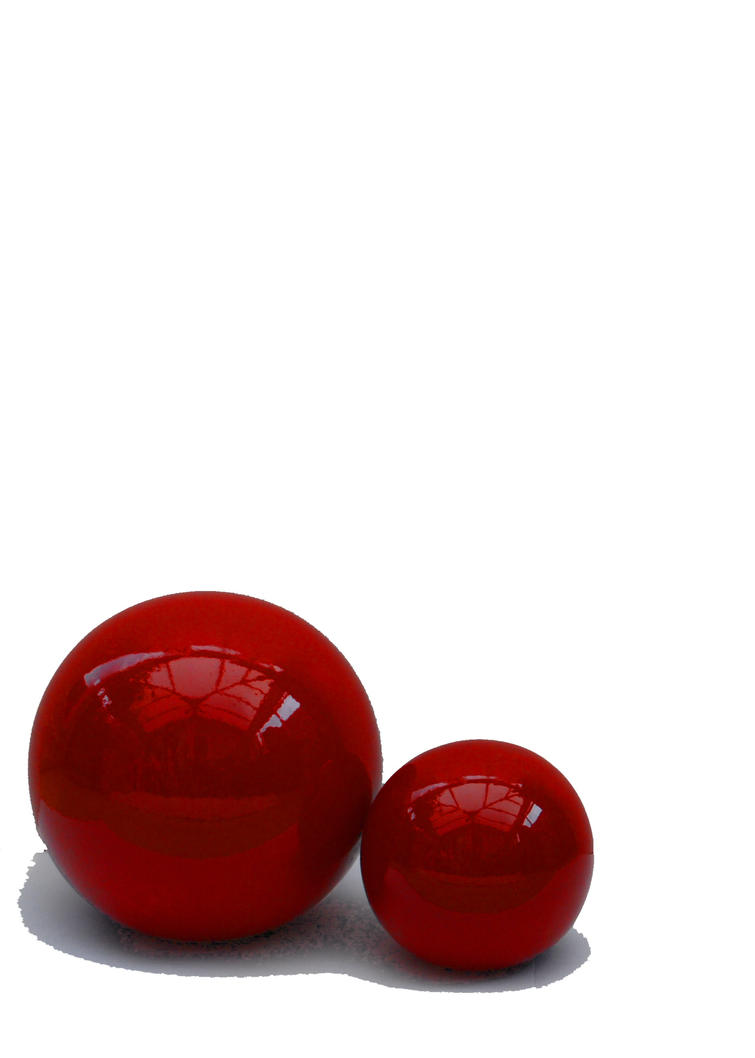 Red Balls by Mark-Allison