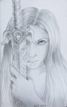 A Girl with a Sword