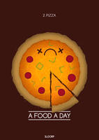 2. Pizza - A Food A Day by SloorpWorld
