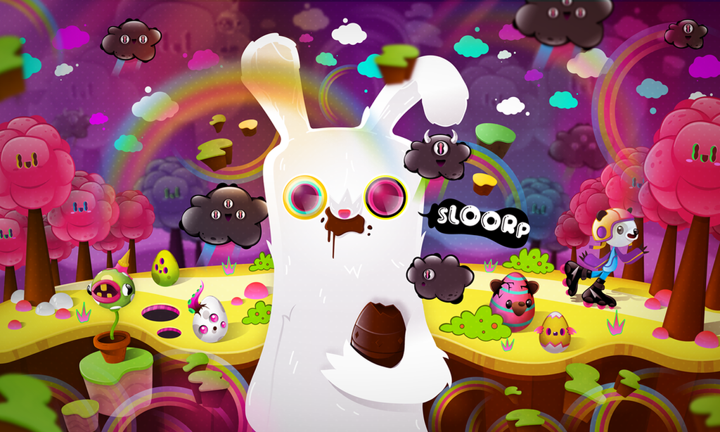Easter Eggs by SloorpWorld