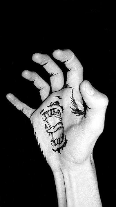 Talk to the hand... by all-day-everyday