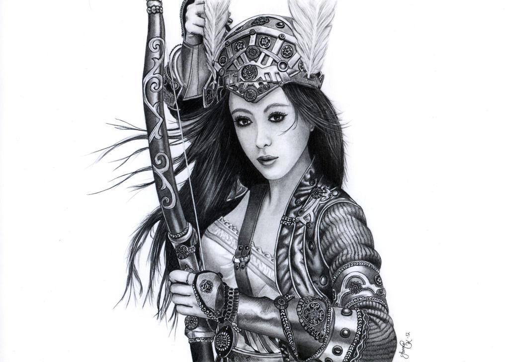 Archer woman by Jaki33