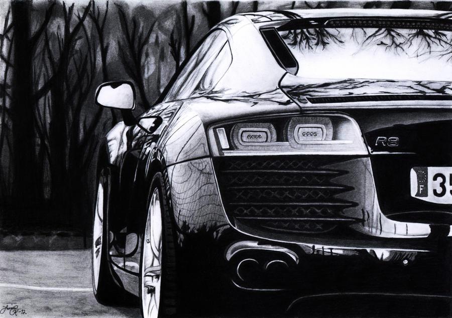 Audi R8 by Jaki33