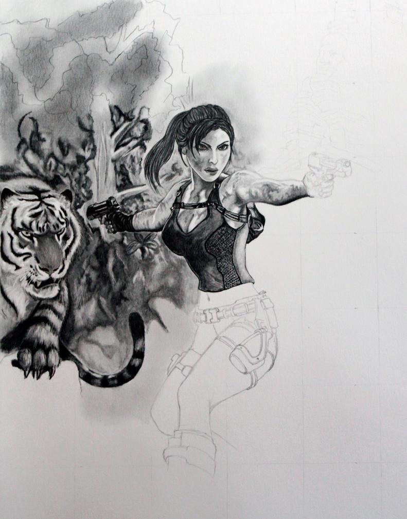 Tomb Raider WIP by Jaki33