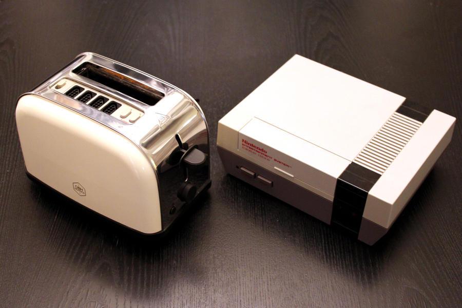 Nintoaster 1.0 and Nintendo 8-bit by Jaki33