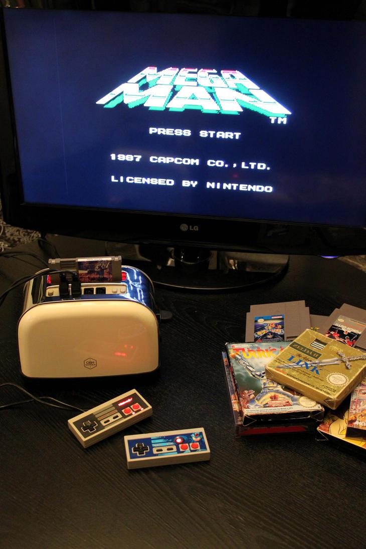 Nintoaster 1.0 Playing Mega Man by Jaki33