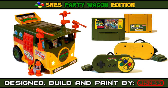 TURTLES SNES Party Wagon Edition - Complet by Jaki33