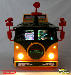 TURTLES SNES Party Wagon Edition - Front Light