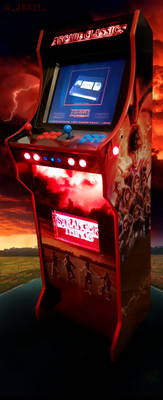 Stranger Things Arcade Cabinet
