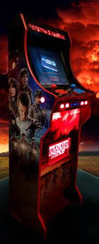Stranger Things Arcade Cabinet