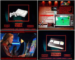 Stranger Things Arcade Cabinet - Custom Theme