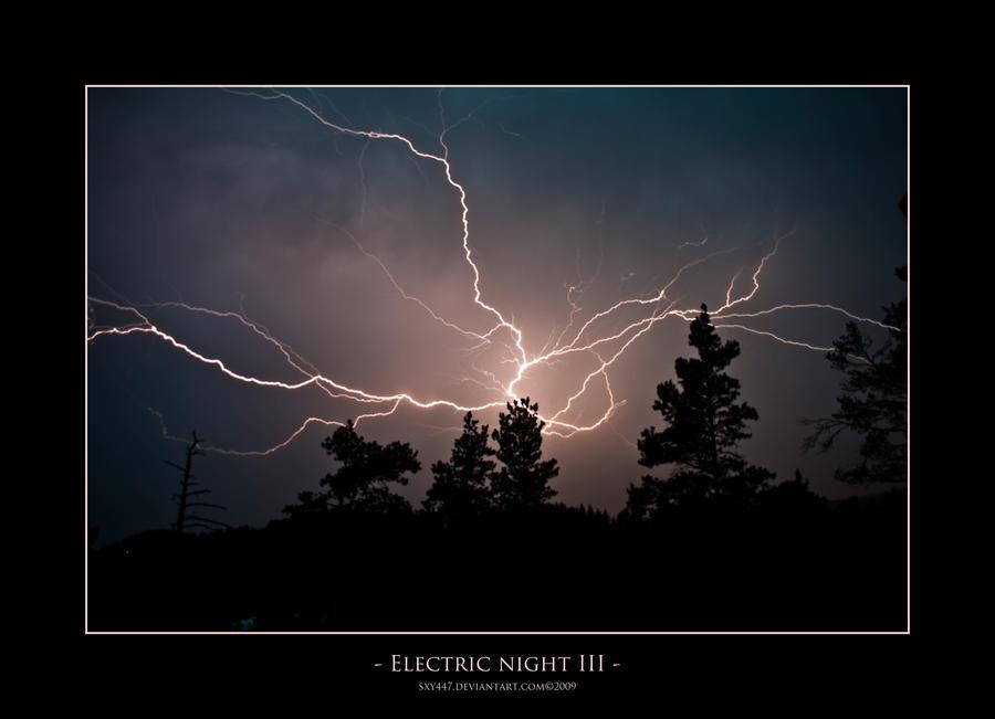 Electric Night III by sxy447