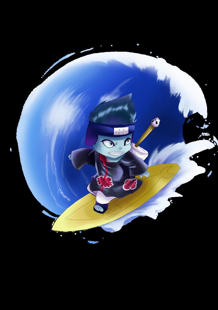kisame surf by cutieyuka