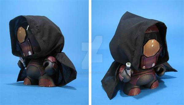 Star Wars Darth Revan MUNNY by ibentmywookiee