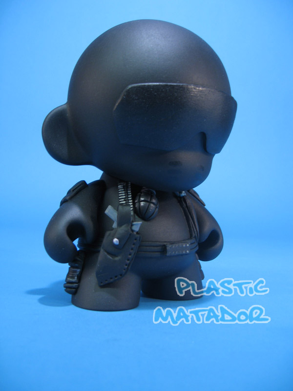 Gi Joe Snake Eyes MUNNY by ibentmywookiee