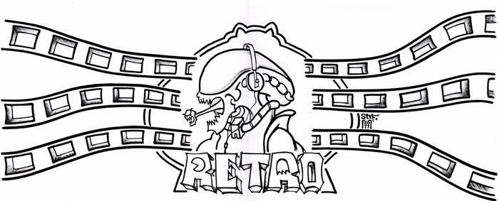 RETRO ALIEN DJ