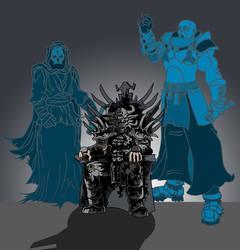 Darth krayt throne STAR WARS