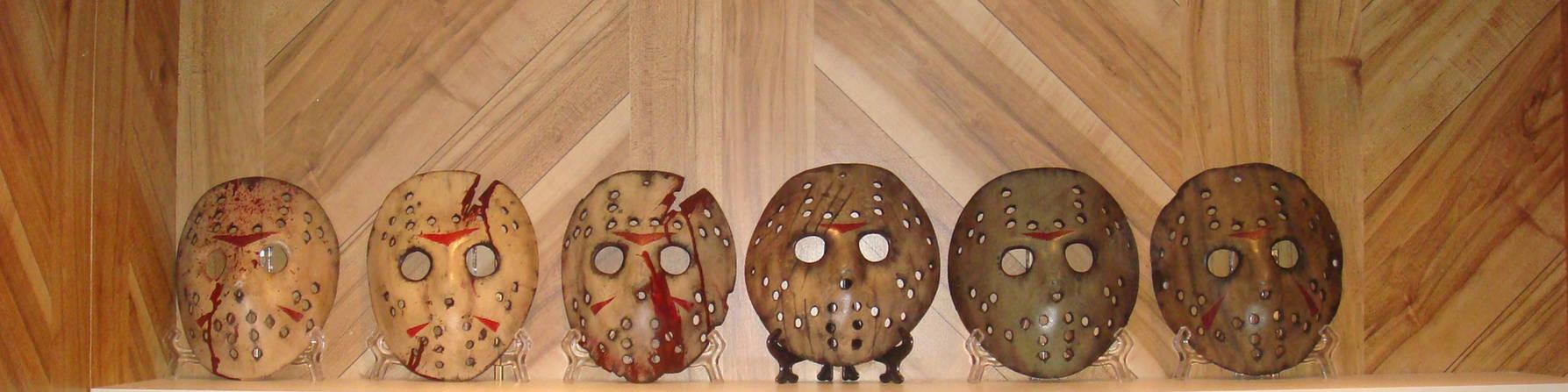 Fiberglass Jason Mask Friday the 13th