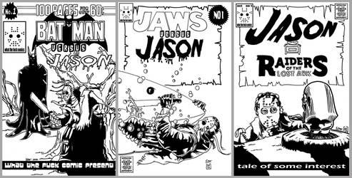 Jason fake comic book cover for Comic con