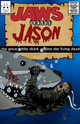 Jason versus Jaws comic book