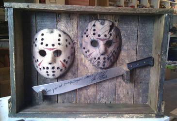 custom case for my mask and machete