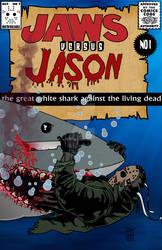 Jason versus Jaws bloody version