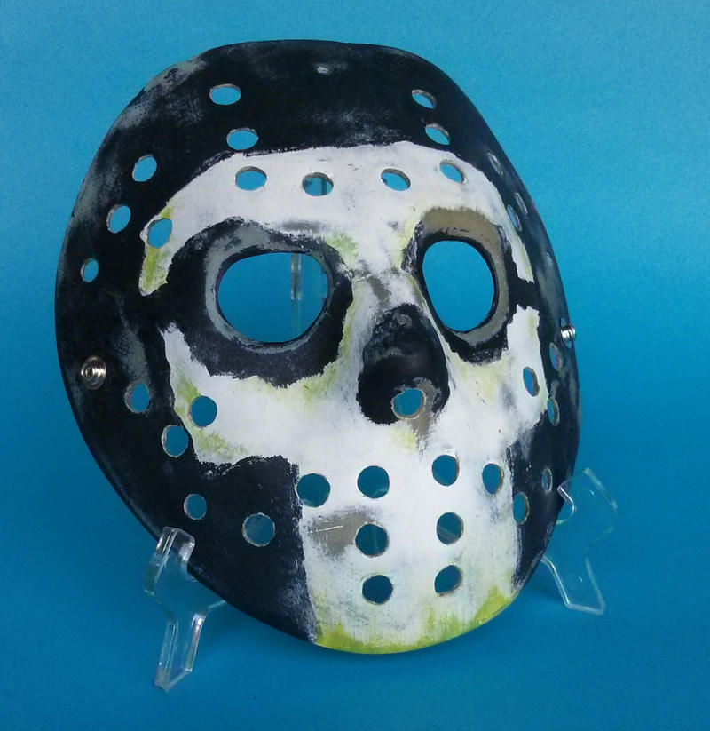 custom Jason Mask by ibentmywookiee