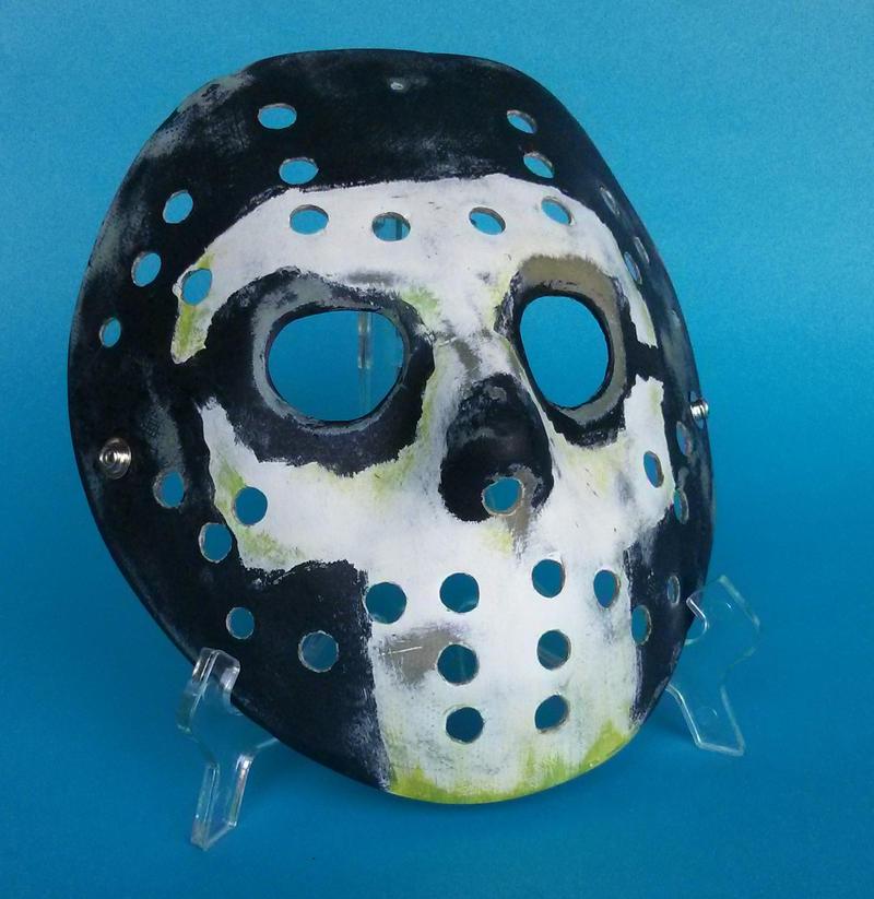 custom Jason Mask by ibentmywookiee