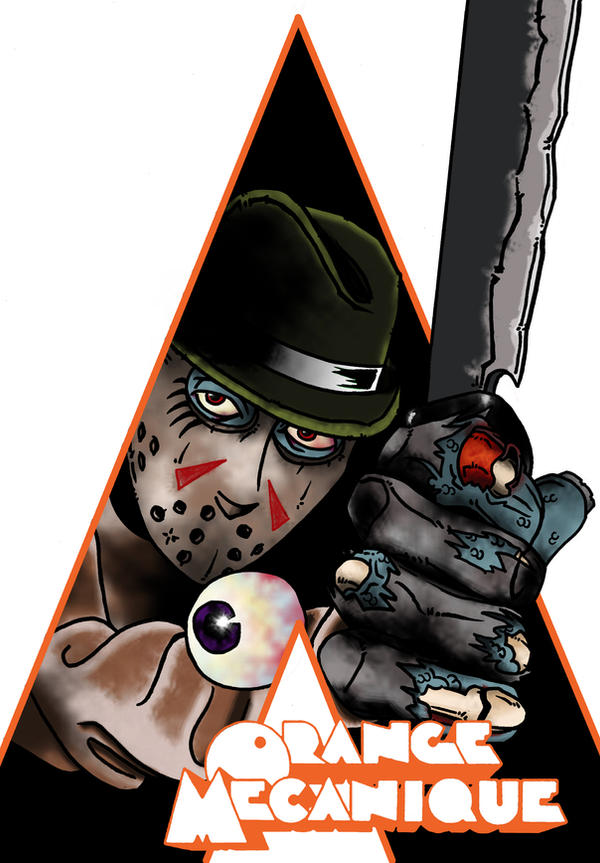 Jason clockwork orange by ibentmywookiee