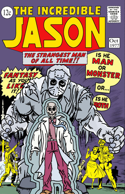 Hulk Jason comic cover by ibentmywookiee