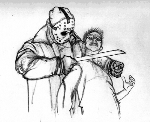 jason voorhees drawing 13th by ibentmywookiee on DeviantArt