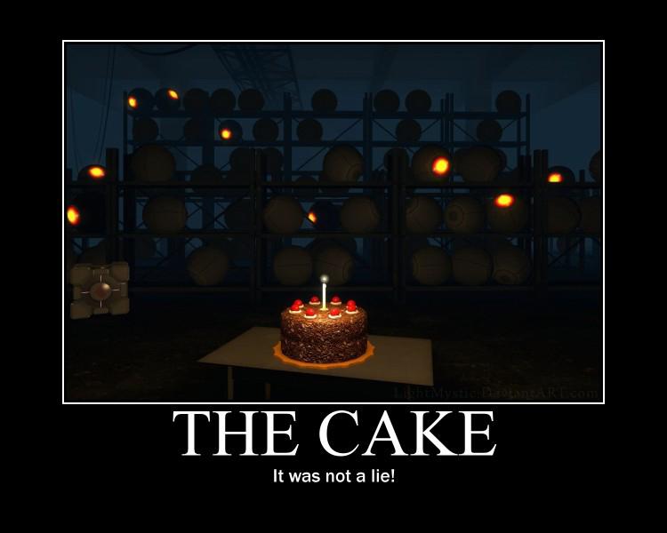 Cake Is A Lie Joke