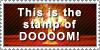 The stamp of DOOM by DJ-Zemar