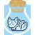 Pixel Bottle Aura Kitsune by DJ-Zemar