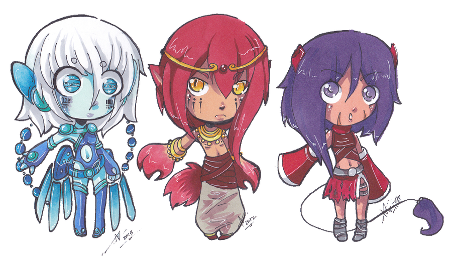 .: Adoptables for Sale :. by NerinSerene