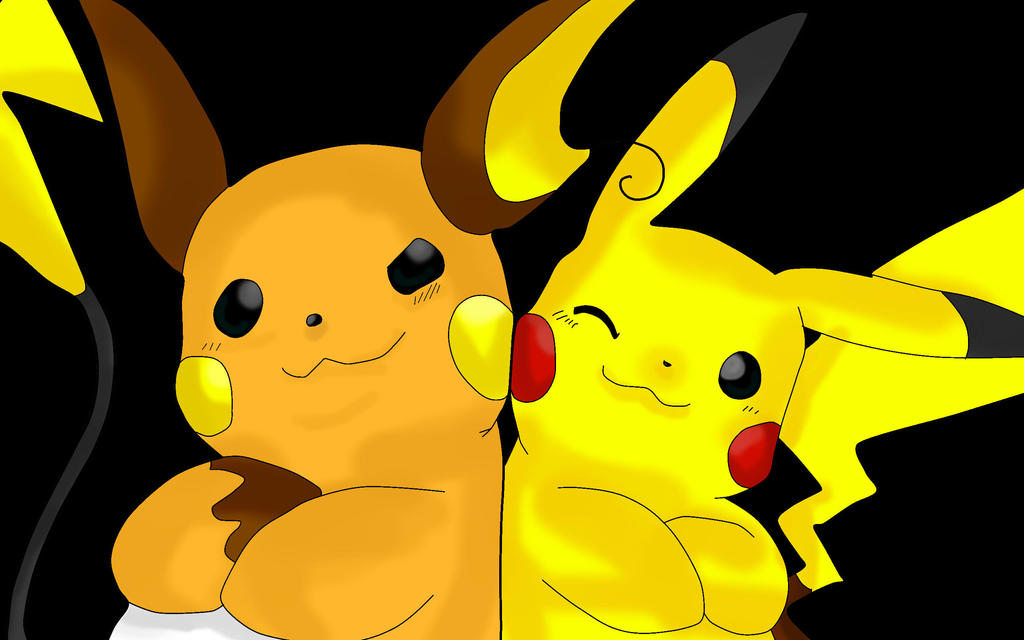 Pikachu And Raichu 502811370