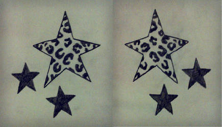 Leopard stars tattoo by PaCii8