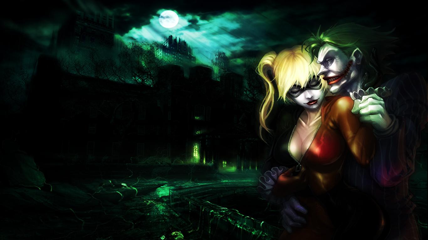 Joker n' Harley Quinn Wallpaper by Mezalira on DeviantArt