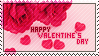 Valentines Day Stamp by cinyu