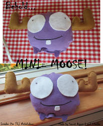 Minimooose Plush by SecretagentG