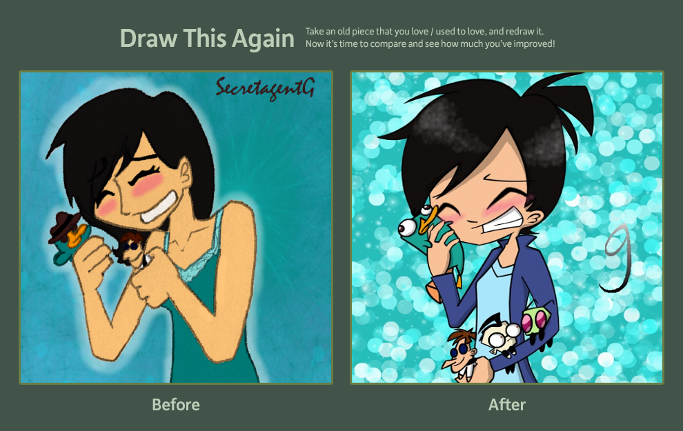 Draw This Again Challenge Entry- My First ID by SecretagentG